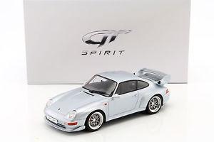 【送料無料】模型車 モデルカー スポーツカー ポルシェグアテマラグアテマラporsche 911 993 gt silber 118 gtspirit