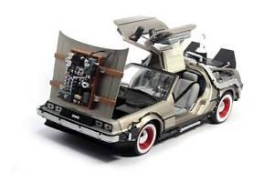 【送料無料】模型車 モデルカー スポーツカー voiture delorean 3 retour vers le futur iii en mtal au 118
