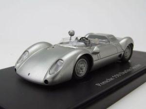 【送料無料】模型車 モデルカー スポーツカー ポルシェスパイダーモデルカーカルトporsche 550 durlite spyder 1959 silber, modellauto 143 autocult