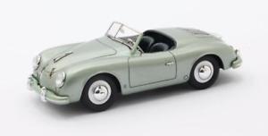 【送料無料】模型車 モデルカー スポーツカー ポルシェアメリカロードスターメタリックグリーンマトリックスporsche 356 america roadster metallic green 1952 matrix 143 mx41607071