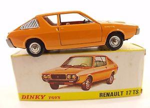【送料無料】模型車 モデルカー スポーツカー ルノーヌフスペインdinky toys f n 1451 renault r17 ts neuf en boite 143 made in spain