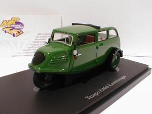 【送料無料】模型車 モデルカー スポーツカー カルトテンポグリーンステーションワゴンautocult 02008 tempo e400 kombiwagen baujahr 1936 in grn 143 neu