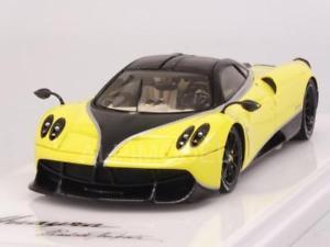 【送料無料】模型車 モデルカー スポーツカー イエロースケールpagani huayra pacchetto tempesta 2016 yellow 143 truescale tsm430184