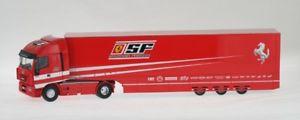 【送料無料】模型車 モデルカー スポーツカー フィアットスクーデリアフェラーリカートランスポーターiveco fiat sf scuderia ferrari 2007 f1 car transporter old cars 143 old02007