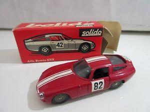 【送料無料】模型車 モデルカー スポーツカー アルファロメオシリーズオリジナルsolido serie 100 alfa romeo gtz nr 148  original jouet ancien