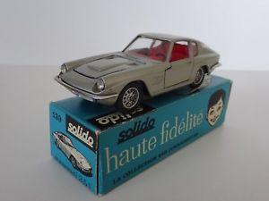 【送料無料】模型車 モデルカー スポーツカー シリーズフランスマセラティマセラティヌフsolido france srie 100 ref 139 maserati 3,5l frua neuf boite