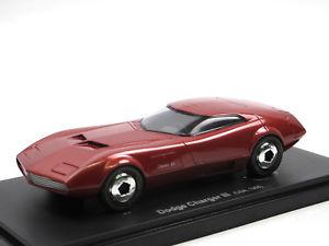 【送料無料】模型車 モデルカー スポーツカー カルトアベニューコンセプトカーautocult avenue 43 dodge charger iii concept car 1968 rot 143 limited edition