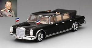 【送料無料】模型車 モデルカー スポーツカー メルセデスベンツユーゴスラビアmercedes benz 600 pullman landaulet 1967 josip tito president yugoslavia 143