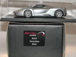 【送料無料】模型車 モデルカー スポーツカー レッドラインフェラーリエンツォred line rl031, ferrari enzo, 20022004, silver, 143, ovp