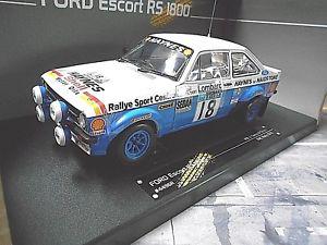 【送料無料】模型車 モデルカー スポーツカー フォードエスコートラリー#テイラーヘインズサンスターford escort mkii rs 1800 20 rallye rac wm 18 taylor haynes 1979 sunstar 118
