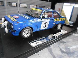 【送料無料】模型車 モデルカー スポーツカー フォードエスコートモンテカルロラリー#バタネンパブサンスターford escort mkii rs 1800 20 rallye monte carlo 1980 5 vatanen pub sunstar 118
