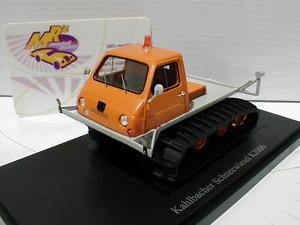 【送料無料】模型車 モデルカー スポーツカー カルトシャトルティータチオレンジイムautocult 08005 kahlbacher schneewiesel baujahr 1968 in orange 143 limed