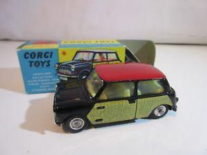 【送料無料】模型車 モデルカー スポーツカー コーギーミニクーパーオリジナルcorgi toys mini cooper  249  original  jouet ancien