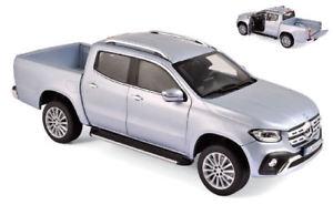 【送料無料】模型車 モデルカー スポーツカー メルセデスクラスシルバーモデルmercedes xclass 2018 silver 118 model 183420 norev