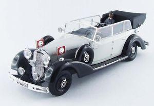 【送料無料】模型車 モデルカー スポーツカー メルセデスベンツニュルンベルクリオmercedes benz 770k nrnberg 1937 with figurines rio 143 4397p