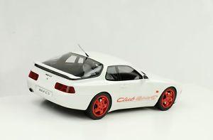 【送料無料】模型車 モデルカー スポーツカー ポルシェクラブスポーツモデルカーグアテマラporsche 968 cs clubsport 1993 weiss modellauto resin 118 gt spirit zm092