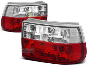 【送料無料】模型車 モデルカー スポーツカー ヌオーヴォオペルアストラロッソビアンコシンnuovo fanali posteriori per opel astra f 19911997 rosso bianco sv ltop22ei xin