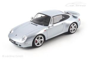 【送料無料】模型車 モデルカー スポーツカー ポルシェターボシルバーporsche 911 993 turbo silber 1 of 504 gt spirit 118 zm026