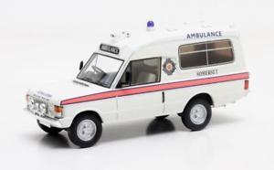 【送料無料】模型車 モデルカー スポーツカー レンジローバーハーバートローマスサマセットrange rover herbert lomas somerset ambulance white 1972 143 mx11701031