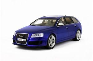【送料無料】模型車 モデルカー スポーツカー オットーモデルアウディotto models 122 audi rs6 avant c6 20082010 118 blau 11500