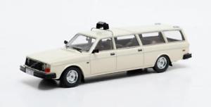 【送料無料】模型車 モデルカー スポーツカー ボルボタクシーマトリックスvolvo 245 transfer lwb taxi white 1978 matrix 143 mx12106052