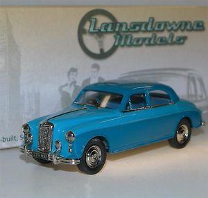 【送料無料】模型車 スポーツカー モデルカー スポーツカー ランズダウンモデルライリースポーツセダンセダンlansdowne models ldm72a, 1958 26 riley 143 26 sports saloon, limousine, blau, 143, オーダーシャツのフェールムラカミ:363a8802 --- rakuten-apps.jp