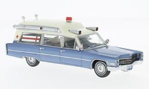 【送料無料】模型車 モデルカー スポーツカー キャデラックネオスケールcadillac samp;s ambulance 1966 neo scale 143 49545
