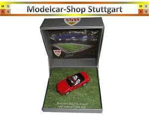 【送料無料】模型車 モデルカー スポーツカー メルセデスクラスロードスターシュトゥットガルトリミテッドエディションブランドmercedes slklasse roadster vfb stuttgart ltd sponsoringedition 143 fabrikneu