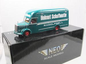 【送料無料】模型車 モデルカー スポーツカー ネオスケールモデルメルセデスベンツneo scale models 46101 1954 mercedesbenz o 3500 mbelker schafheutle 143