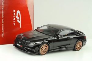 【送料無料】模型車 モデルカー スポーツカー メルセデスクラスクーペグアテマラ2015 mercedes sclass s63 850 brabus 60 biturbo coupe 118 gt spirit gt110