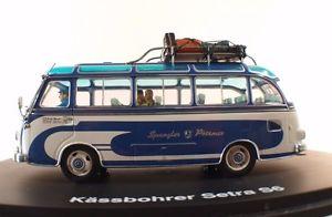 【送料無料】模型車 モデルカー スポーツカー セトラバスバスミントヌフschuco 02823 bus kssbohrer setra s6 spangler autobus 143 boxed neuf mint