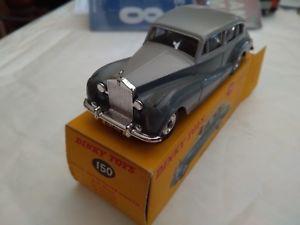 【送料無料】模型車 モデルカー スポーツカー ロールスロイスシルバーdinky toys gb rollsroyce silver wraith 150 etat aa comme neuve avec boite