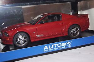 【送料無料】模型車 モデルカー スポーツカー フォードムスタングサリーンen ford mustang s281 rot 118 autoart neu amp; ovp 73059