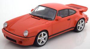 【送料無料】模型車 モデルカー スポーツカー グアテマラポルシェオレンジ118 gt spirit porsche 911 964 ruf scr 42 orange