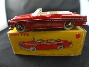 【送料無料】模型車 モデルカー スポーツカー クライスラーニューヨーカーdinky toys f n 24a chrysler yorker 1955 en boite