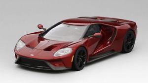 【送料無料】模型車 モデルカー スポーツカー フォードモデルford gt liquid red 2016 143 model true scale miniatures