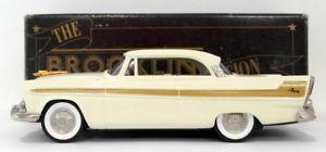 【送料無料】模型車 モデルカー スポーツカー モデルスケールモデルカープリマスフューリーベージュbrooklin models 143 scale model car brk63 001  1956 plymouth fury beige