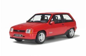 【送料無料】模型車 モデルカー スポーツカー オットーモデルオペルコルサotto models 180 opel corsa a gsi 1987 rot 118 11500