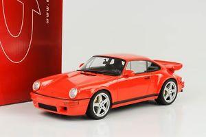 【送料無料】模型車 モデルカー スポーツカー ポルシェコールオレンジグアテマラporsche 911 964 ruf scr 42 orange 118 gt spirit gt192