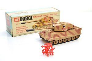 【送料無料】模型車 モデルカー スポーツカー コーギーキングタイガータンクcorgi 904 king tiger tank