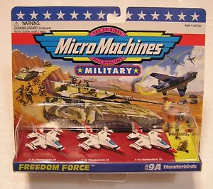 【送料無料】模型車 モデルカー スポーツカー マイクロマシン#マイクロマシンmicro machines freedom force thunderbirds 9a galoob military f14 micromachines