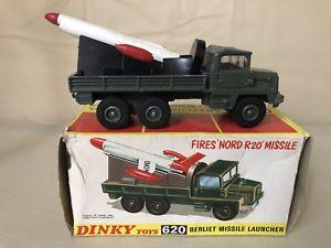 【送料無料】模型車 モデルカー スポーツカー ボックスミサイルランチャーdinky toys 620 berliet missile launcher in original box