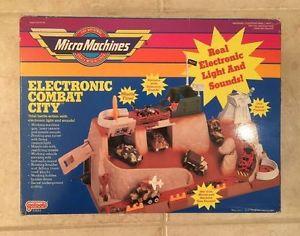 【送料無料】模型車 モデルカー スポーツカー rare lot micro machines military electronic combat city mib nrfb
