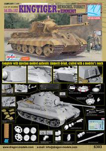 【送料無料】模型車 モデルカー スポーツカー ドラゴンキングタイガーdragon sdkfz182 king tiger 6303
