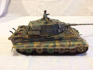 【送料無料】模型車 モデルカー スポーツカー ダイカストドイツキングタイガータンクタンクforces of valor 132 diecast wwii german king tiger panzer tank by unimax
