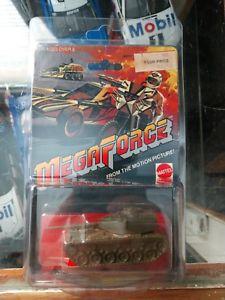 【送料無料】模型車 モデルカー スポーツカー マテルホットホイールメガフォースバトルタンクケースmattel hot wheels mega force battle tank very rare
