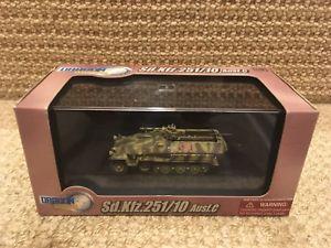 【送料無料】模型車 モデルカー スポーツカー ドラゴンフロントdragon armor 172 sd kfz 25110, hanomag, e front 1943, 60338