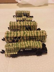【送料無料】模型車 モデルカー スポーツカー ロットマイクロカムフラージュマシンrare lot galoob micro machines complete military train in camouflage