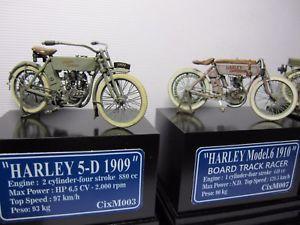 【送料無料】模型車 モデルカー スポーツカー ハーレーダビッドソンレーサーcixmodels 135 cixm003 harley davidson 5d 1909 cixm007 harley racer 135