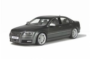 【送料無料】模型車 モデルカー スポーツカー オットーモデルアウディotto models 205 audi s8 d3 schwarz 118 11500